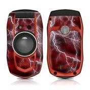 DecalGirl CGZ1-APOC-RED Casio GzOne Boulder Skin - Apocalypse Red