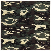Liberty Mountain 517001 Bandana - Woodland Camouflage