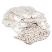 Unisan 220CCT Premium Cut-End Wet Mop Heads Cotton 590ml White 12 per Carton