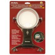 UltraOptix Lighted Hands Free Magnifier 2 5x with 6x Bifocal