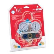 FJC Inc 6697 R134A/R12/R22 Dual Aluminium Manifold Gauge Set