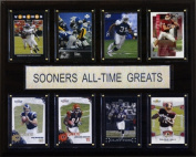 C & I Collectables 1215ATGSOON NCAA Football Oklahoma Sooners All-Time Greats Plaque