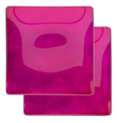 Creative Gifts International 807342 Condi Dishes Pair of Hot Pink