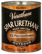 Rustoleum 242180H 0.9l Crystal Clear Spar Urethane Exterior Oil Based Gloss