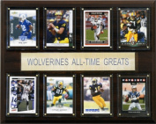 C & I Collectables 1215ATGMICH NCAA Football Michigan Wolverines All-Time Greats Plaque