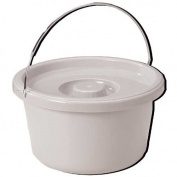 Commode Pail With Lid 7.1l - 1362