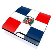 DecalGirl PS3S-FLAG-DOMREP PS3 Slim Skin - Dominican Republic Flag