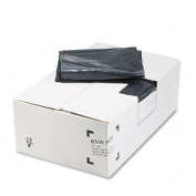 Earthsense Commercial RNW5820 Can Liners-  208.2-227.1l 2mil- 38 x 58- Black- 100/Carton