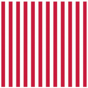 Amscan 221004 Red Stripe Jumbo Gift Wrap