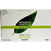 Tea Tree Therapy Refreshed Exfoliant Bar Soap, Lemon Myrtle, 100ml