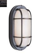 Trans Global Lighting 41005 RT The Standard 1 Light Outdoor Medium Bulkhead - Rust