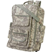 Extreme Pak Digital Camo Water-resistant 19 in. Rolling Backpack
