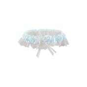 Darice 252769 Lace Garter-Light Blue