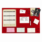 STEELMASTER Soho Collection 270162407 Magnetic Board 14 in. x 24 in. - Red