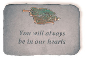 Kay Berry 06290 You Will Always...with Metal Trumpet Angel-verde