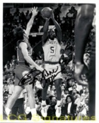 Powers Collectibles 7210 Signed Cooper Duane 8x10 B & W Photo