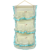 Blancho Bedding YF-WH052 Flower Bud Silk Blue Lace/Wall Hanging/Wall Organizers/Baskets/Hanging Baskets