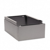 Tennsco CLB1218MG Optional Locker Base for Steel Lockers Medium Gray 12w x18d x6h