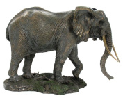 Unicorn Studios WU74733A4 Walking Elephant Sculpture