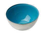 MoMo Panache 807245 Condi Bowls Silver with Blue Dawn inner pair