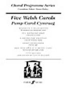 Alfred 12-0571519253 Five Welsh Carols - Music Book
