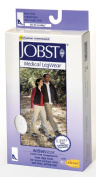 Jobst 110051 ActiveWear 30-40 mmHg Firm Support Unisex Athletic Knee Highs - Size & Colour- Cool White Small