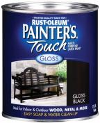 Rustoleum 0.9l Gloss Black Painters Touch Multi-Purpose Paint 1979-502
