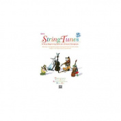 Alfred 00-EL03986CD StringTunes- A Very Beginning Solo- or Unison Songbook - Music Book