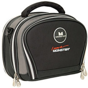 Monster Cable MBL DVD TOGO-SM -160688 - Monster Cable Dvd To Go Dvd Player Case - Clam Shell - Shoulder Strap - Nylon