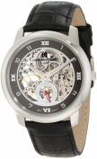 Charles-Hubert Paris 3932 Stainless Steel Case Mechanical Watch