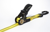 Usa Products Pro-grip 4.88m X 2.5cm . Ratchet Tie Down With Hooks 312610