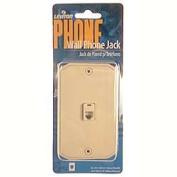 Leviton Ivory Single Gang Wall Phone Jack 831-C0253-I