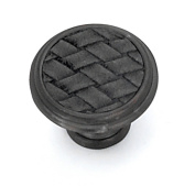 Strategic Brands 12092 1.13 in. Round Knob-Oil Rubbed Bronze-Black