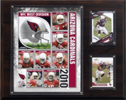 C & I Collectables 1215ACARDS10 NFL Arizona Cardinals 2010 Team Plaque