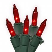 Vickerman W5G0553 50 Light Red Dura-Lit-Green Wire Ec
