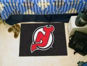 FANMATS NHL New Jersey Devils Nylon Face Starter Rug