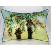 Betsy Drake HJ385 Betsys Palms Art Only Pillow 15x22