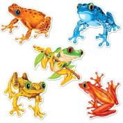 Beistle 54513 Mini Frog Cutouts