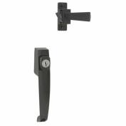Hampton Products International Black Push Button Key Latch VK333XBL