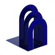 STEELMASTER Soho Collection 241873R508 Deluxe Bookend Sorter Curved - Blue