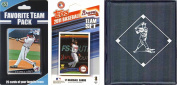 C & I Collectables 2011BRAVESTSC MLB Atlanta Braves Licenced 2010 Topps Team Set and Favourite Player Trading Cards Plus Storage Album