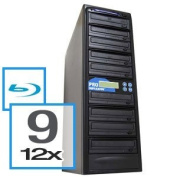 Produplicator A9BR12X500G 9 Blu-Ray Drive BD-CD-DVD Duplicator Plus Built-In 500GB HDD Plus USB Connection