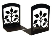 Village Wrought Iron BE-109 Leaf Fan Bookends
