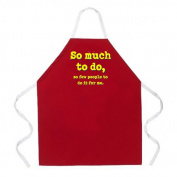 L. A. Imprints 2047 So Much To Do Apron