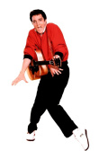 Advanced Graphics 376 Elvis Presley - Red Jacket - Life-Size Cardboard Stand-Up