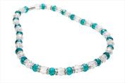 Alexander Kalifano WHITE-NGG-17 White Tag Gorgeous Glass Necklaces - Multi-Colored
