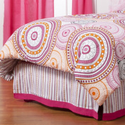 One Grace Place 10-27020 Sophia Lolita Full Bed Skirt
