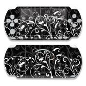 DecalGirl PSP3-BWFLEUR PSP 3000 Skin - B & W Fleur