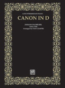 Alfred 00-AP9601 Canon in D - Music Book