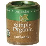 Simply Organic 25477 Mini Organic Ground Coriander Seed